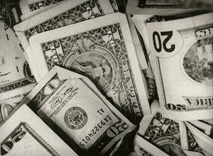 Twenty and One Dollar Bills (Capital)