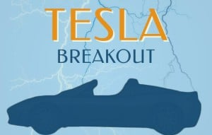 Tesla with Pocket Pivot Break Out