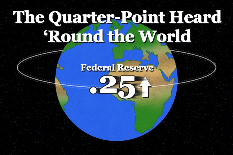 The Quarter-Point Heard 'Round the World