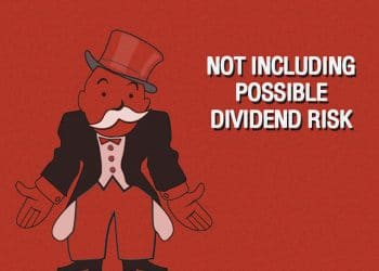 Not Including Possible Dividend Risk